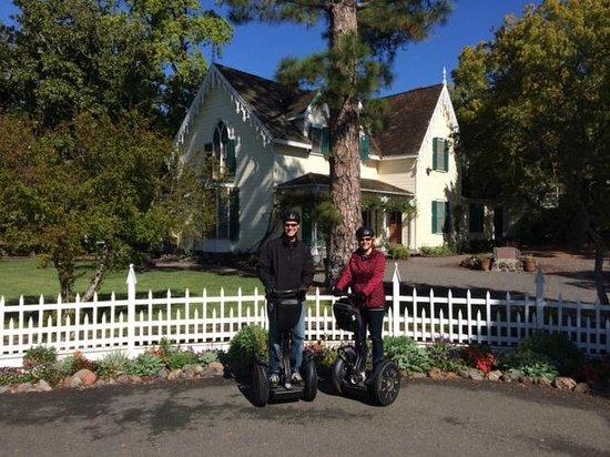 Sonoma Segway: Photo Op along the tour ....