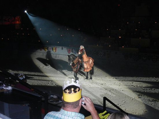 Medieval Times Dinner & Tournament: The Host of the Show