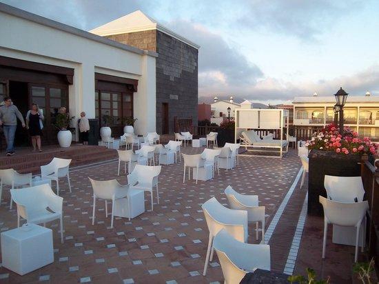 H10 Rubicón Palace: Terrace