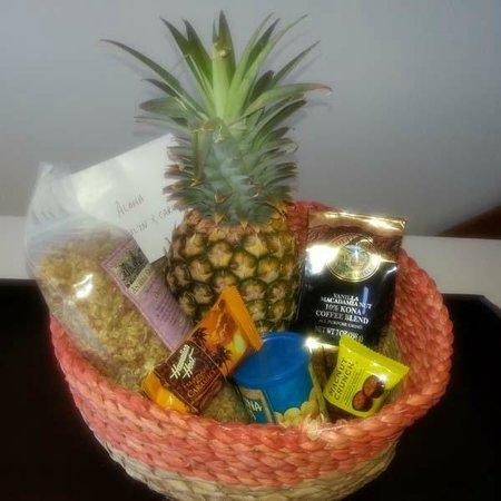 Big Island Retreat: Welcome Basket