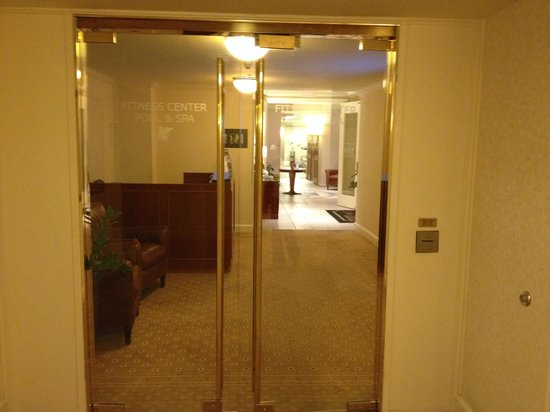 JW Marriott Miami: Entrance to the health club