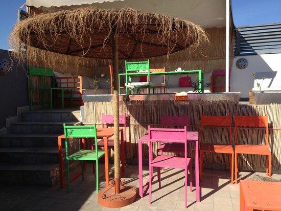 Riad Origines : la terrasse sur le toit