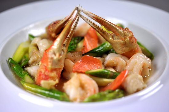 Zen Garden Restaurant : Cassolette de fruits de mer