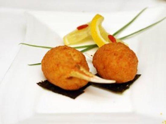 Zen Garden Restaurant : Pinces de crabe farcies aux crevettes