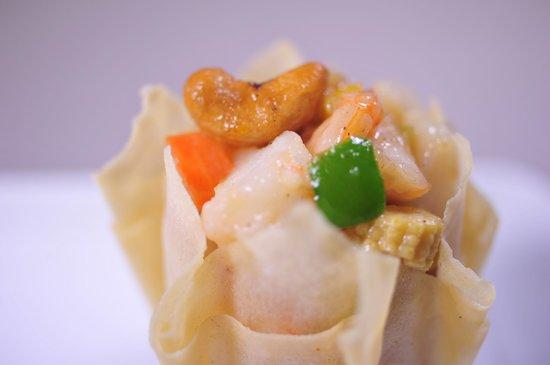 Zen Garden Restaurant : Les 7 trésors de la fleur de lotus (médaille d'or au concours de cuisine de Dalian en 1998)