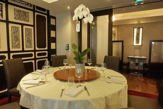 Zen Garden Restaurant : Un salon privé