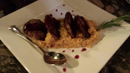 Cafe Verona: Risotto with sausage