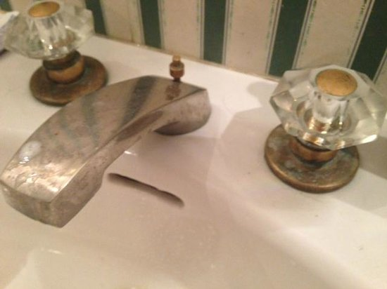 Tara - A Country Inn: bathroom faucet