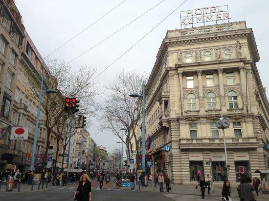Hotel Kummer: From the street