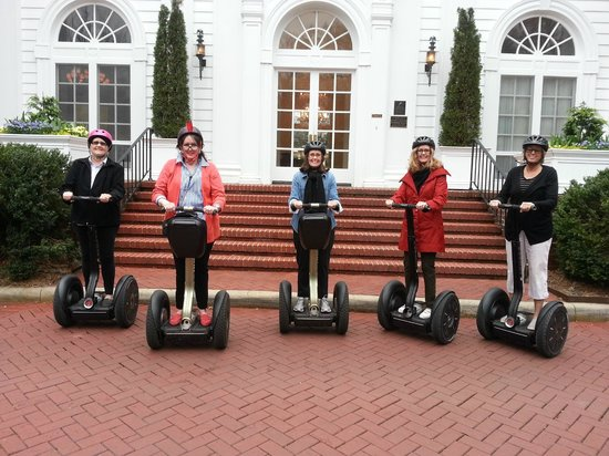 Charlotte NC Tours: The 5 Campbell Girls on Segways in Charlotte
