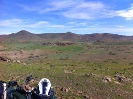 Marrakech Quad Biking: vue depuis une colline