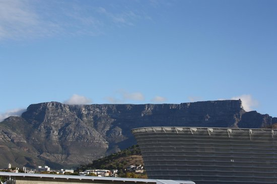 Wow Cape Town Tours: Table Mt from our hotel room