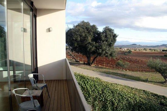 Finca de los Arandinos: Vista desde el balcón de la junior suite