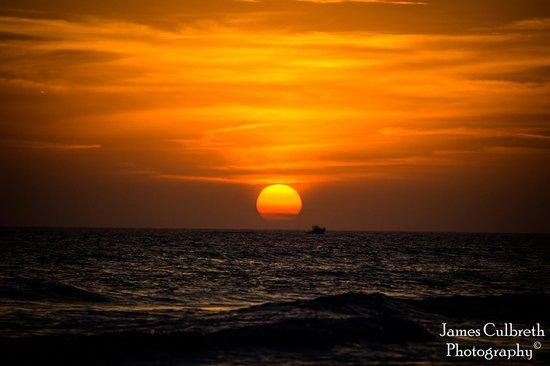 Nautical Watch Gulf Side Villas : Sunset