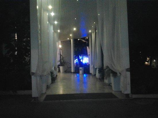BlueBay Villas Doradas Adults Only : entrance at night