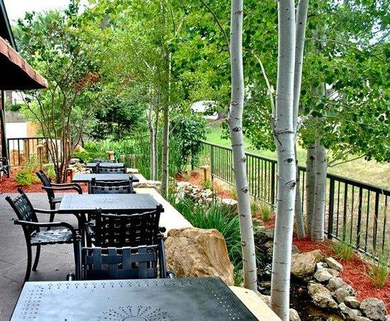 Ike's Minnetonka: patio & stream
