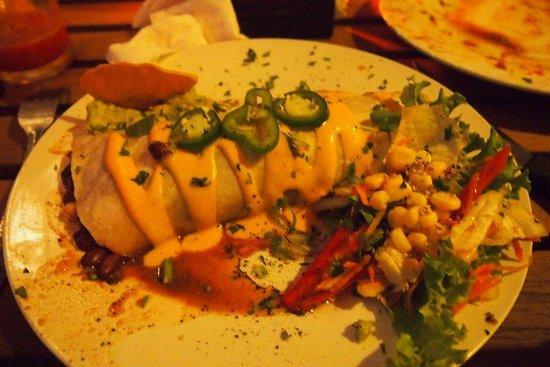 Restaurant La Villa del Chef: Burrito