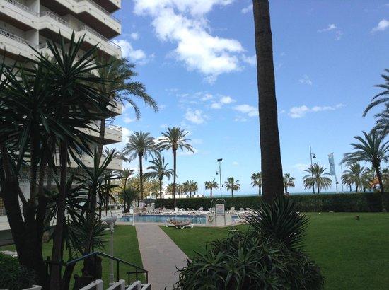 Bajondillo Apartments: Внутренний бассейн