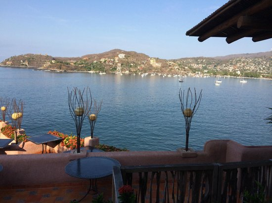 La Casa Que Canta : View from the restaurant