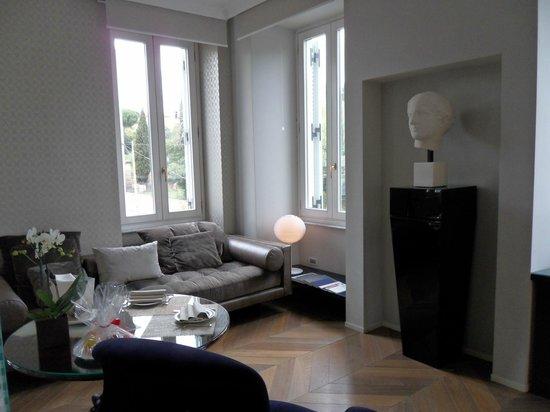 Palazzo Manfredi - Relais & Chateaux: Salon