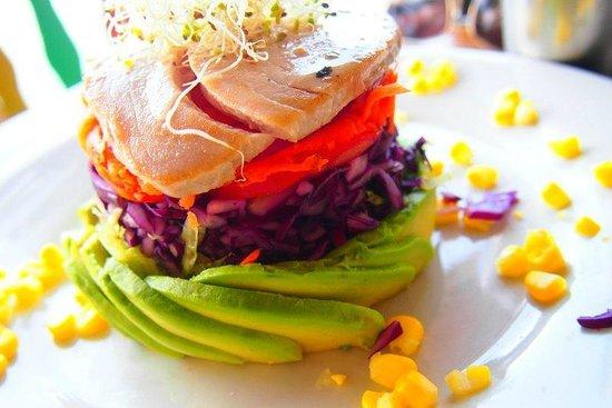 Terrazzo Ristorante & Bar: Salad with Tuna