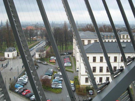 Militärhistorisches Museum der Bundeswehr Dresden: Dresden skyline