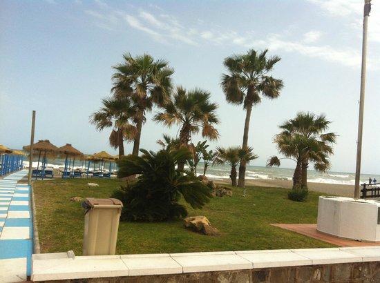 Playa El Bajondillo: Пляж Посейдон