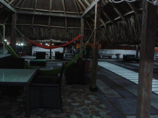 The Emerald Hostel Santa Marta: Lugar para estar