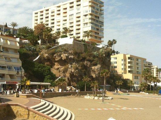 Playa El Bajondillo: Начало набережной