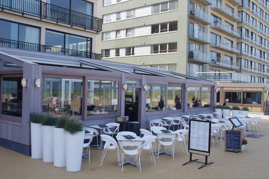 Brasserie Sunbeach : het terras
