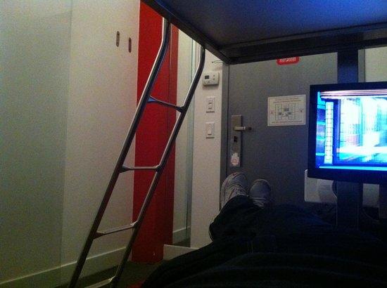 Pod 39 Hotel: Pod 39; mini-bunk room