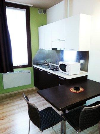 Hotel Al Vivit: Cucina Monolocale