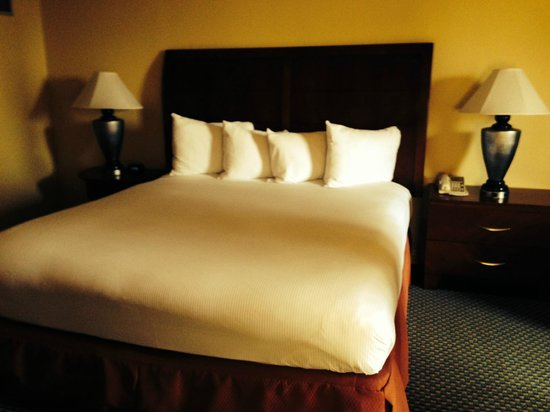 Hilton Houston Post Oak by the Galleria: bed