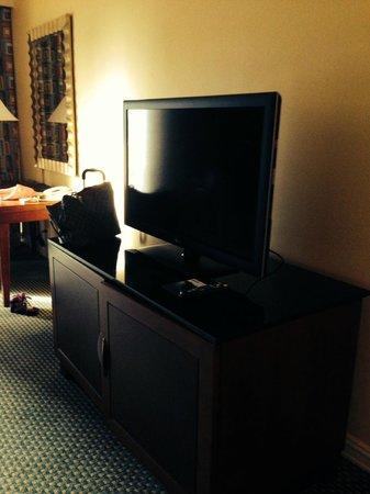 Hilton Houston Post Oak by the Galleria: large tv
