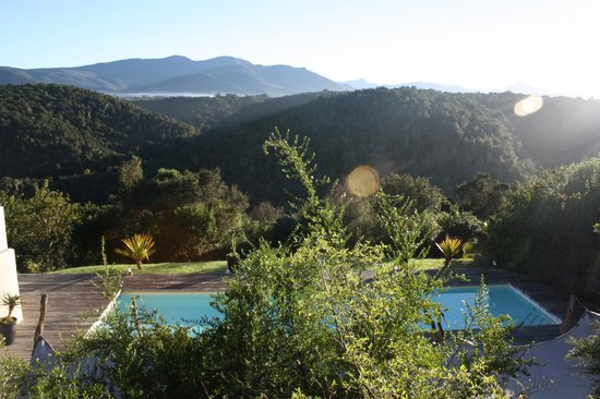 Hog Hollow Country Lodge: View from Balcony