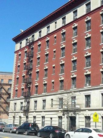 Harlem: La casa dove ho alloggiato sulla  Nicholas Avenue