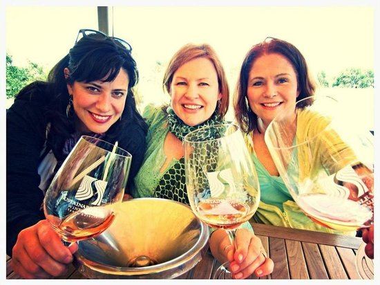 """Sustainable Vine Wine Tours : """"The best wines we drink are the ones with friends!"""""""
