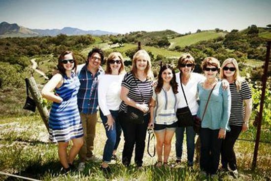 Sustainable Vine Wine Tours : A gorgeous day in wine country exploring the vineyard with family!