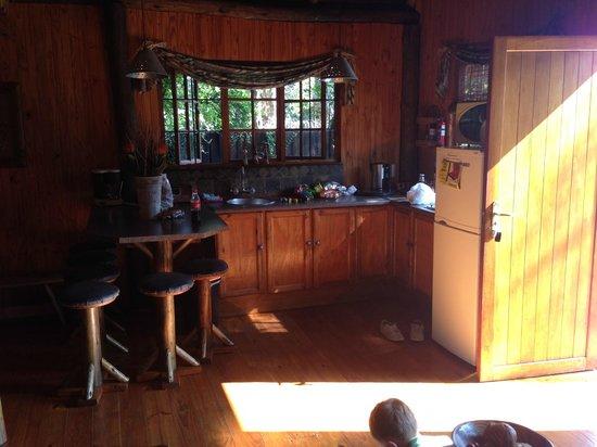 Ciara Lodge: Kitchenette