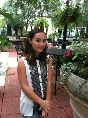 The Ritz-Carlton, New Orleans: Pre-Wedding in Courtyard