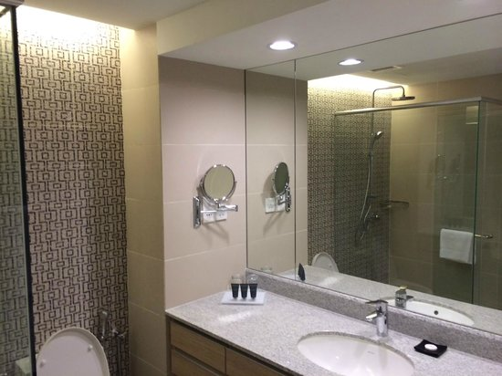 Ambassador Row Hotel Suites by Lanson Place: Bathroom