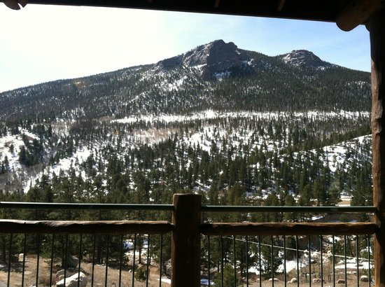 Trailhead Restaurant : This is one of the views from the restauraunt windows