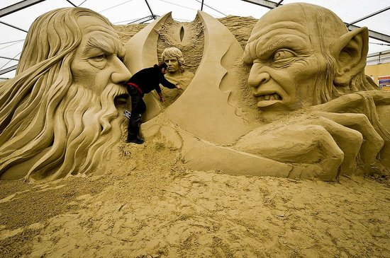 Sandworld Sculpture Park
