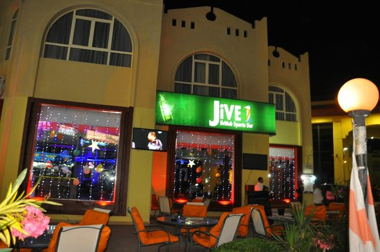 Jive 1 Bar : Comfy outside seating