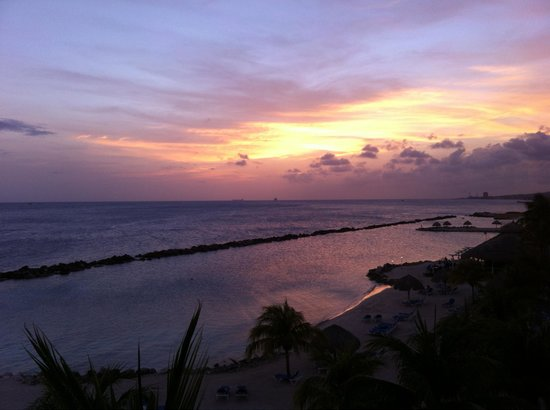 Sunscape Curacao Resort Spa & Casino - Curacao: Sunset from the royal tower