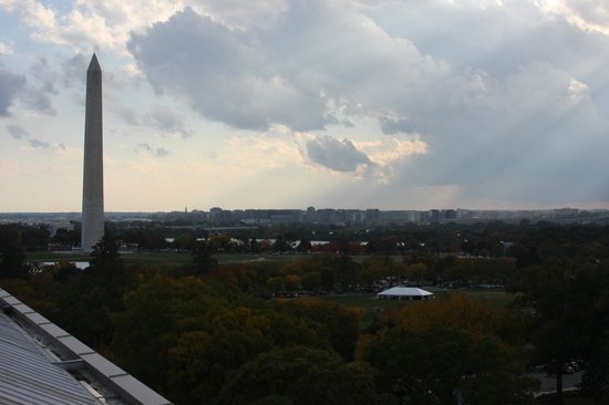 W Washington D.C. : View from Roof Top