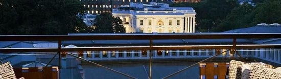 W Washington D.C. : View from Roof Top at White House