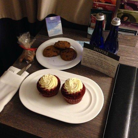 Kimpton Hotel Palomar Philadelphia : Inner Circle Amenity from concierge