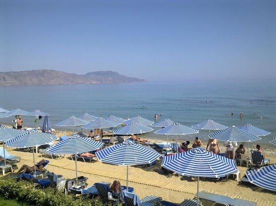 Hydramis Palace Beach Resort: Пляж