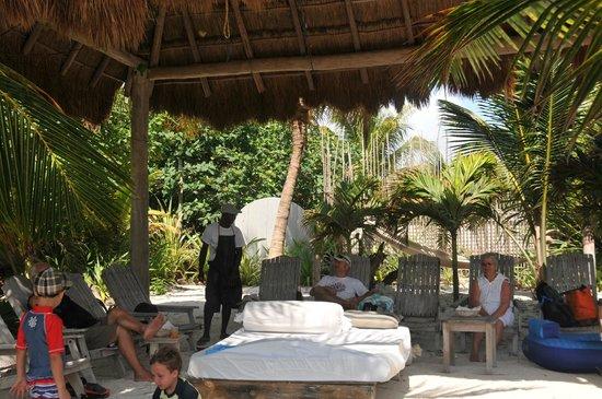Maya Chan Beach: Room with a view